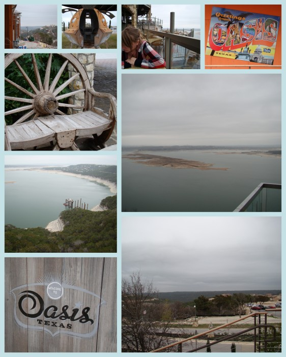 The Oasis Restaurant on Lake Travis in Texas