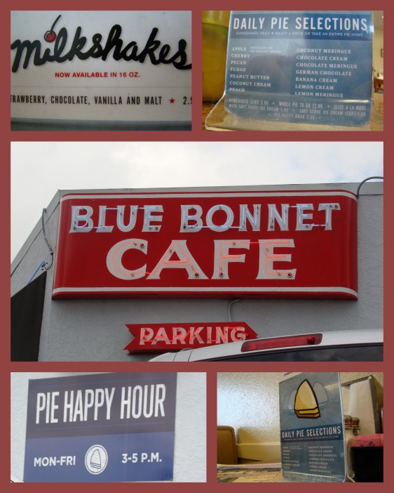 Blue Bonnet Cafe in Marble Falls