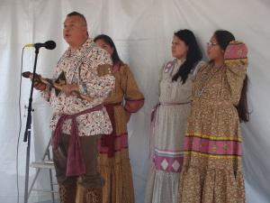 Austin PowWow 2012 Cherokee Story Tellers