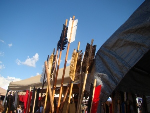 Austin PowWow 2012 Arrows for sale