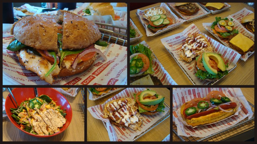 burgers and other sandwichs smashburger