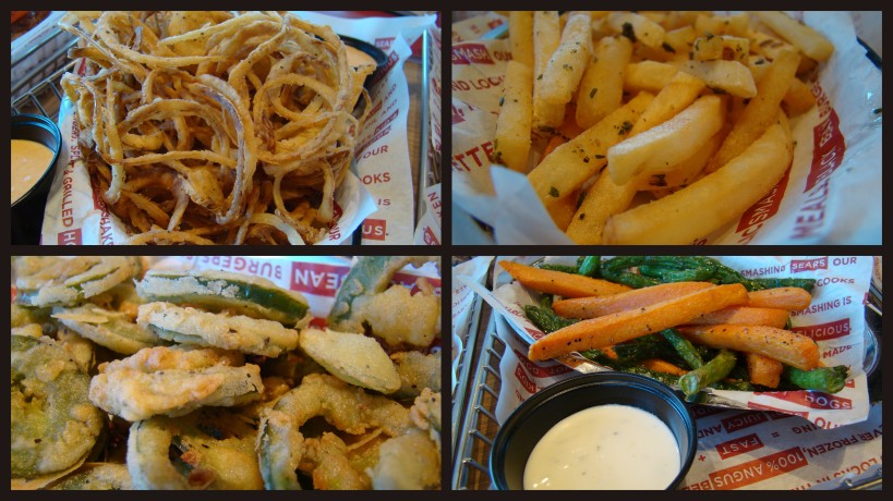 fries onion rings jalpenos at smashburger