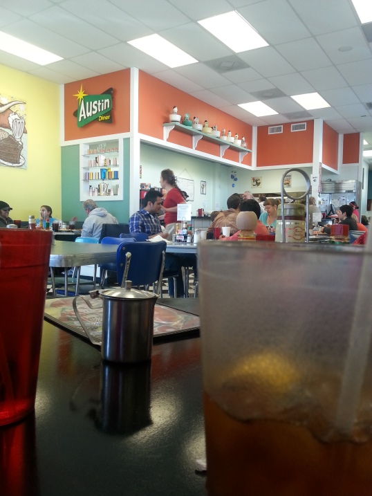 Austin Diner inside
