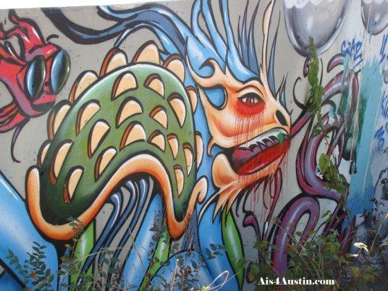 Castle Park Graffiti creature