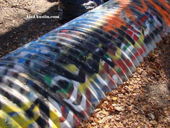 Castile Hill Park Drainage line