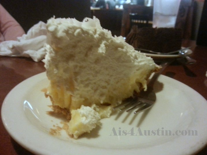 Coconut Cream Pie at Frisco