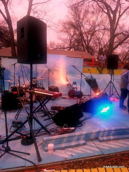 Wild Chld video set at The Boneyard in Austin