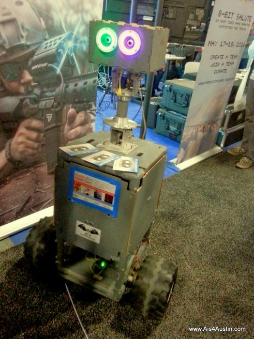 Robot at the Game Expo SXSW 2014