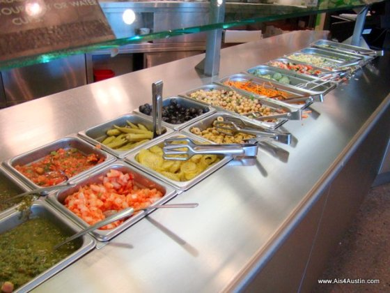 Toppings bar at Moaz