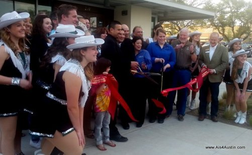 Ribbon cutting at La Madeleine  Cedar Park Texas