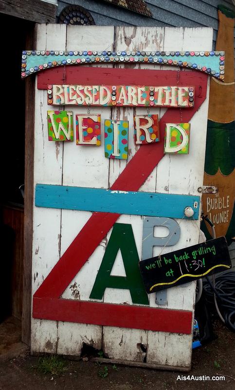 weird door