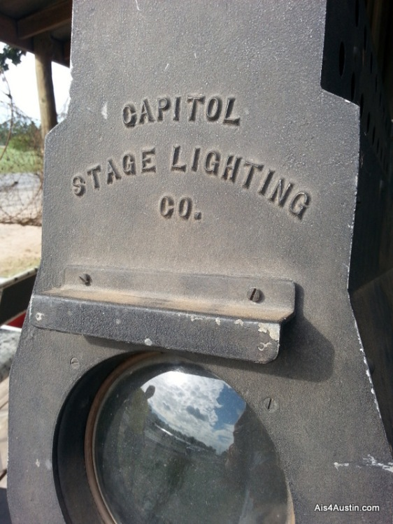 Old stage light