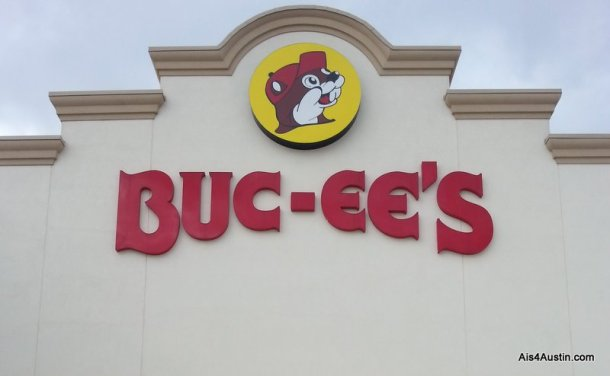 Buc-ee's sign