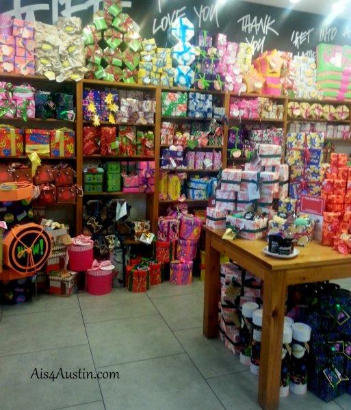 Lush shop Austin Texas